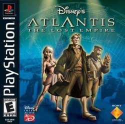 Disney's Atlantis: The Lost Empire front cover