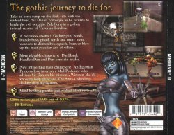 MediEvil 2 back cover