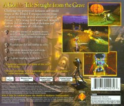MediEvil back cover