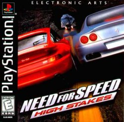 Need For Speed 4: High Stakes front cover