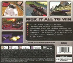 Need For Speed 4: High Stakes back cover