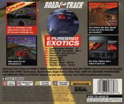 Need for Speed back cover