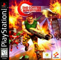 C: The Contra Adventure front cover