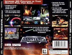 Star Wars: Masters of Teras Kasi back cover