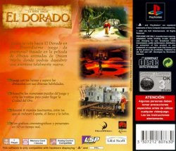 The Road to El Dorado back cover