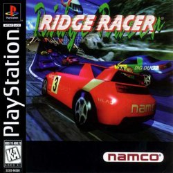 Ridge Racer front cover
