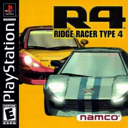 R4: Ridge Racer Type 4 front cover