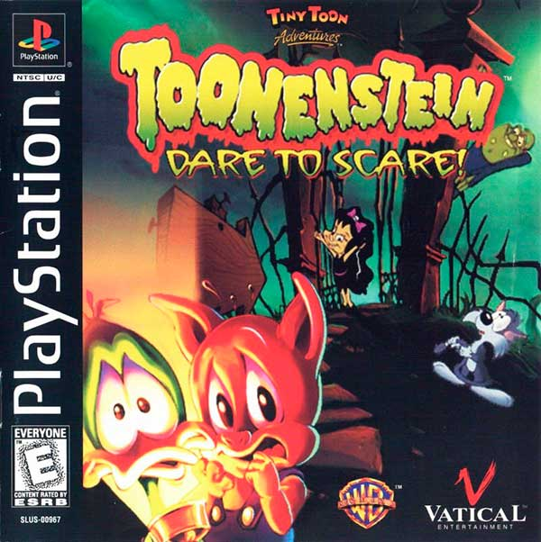 Tiny Toons Adventures: Toonenstein - Dare To Scare!