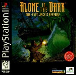 Alone in the Dark: One-Eyed Jack's Revenge front cover