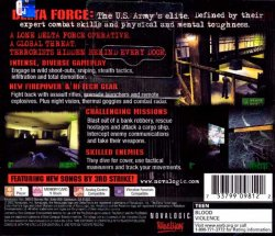 Delta Force: Urban Warfare back cover