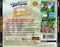 Tiny Toon Adventures: The Great Beanstalk back cover