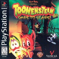 Tiny Toons Adventures: Toonenstein - Dare To Scare! front cover