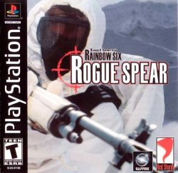 Tom Clancy's Rainbow Six: Rogue Spear front cover