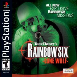 Tom Clancy's Rainbow Six: Lone Wolf front cover
