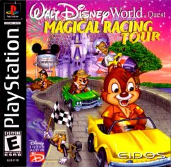 Walt Disney World Quest: Magical Racing Tour front cover