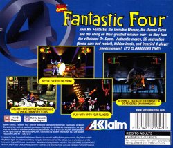 Fantastic Four back cover