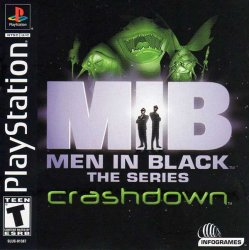 Men in Black 2: The Series Crashdown front cover