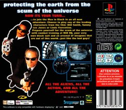 Men in Black: The Game back cover