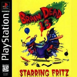 Brain Dead 13 front cover
