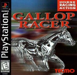 Gallop Racer front cover