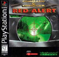 Command & Conquer: Red Alert front cover