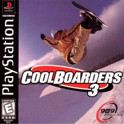 Cool Boarders 3 front cover
