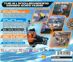 Cool Boarders 4 back cover