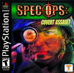 Spec Ops: Covert Assault front cover