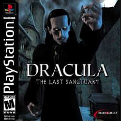Dracula: The Last Sanctuary front cover