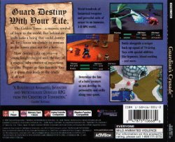 Guardian's Crusade back cover