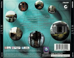 Myst back cover