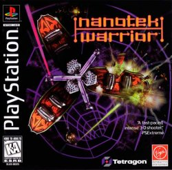 NanoTek Warrior front cover