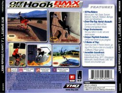 MTV Sports: T.J. Lavin's Ultimate BMX back cover