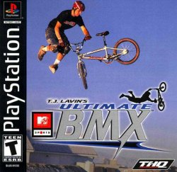 MTV Sports: T.J. Lavin's Ultimate BMX front cover