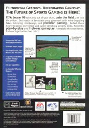 FIFA Soccer 96 back cover