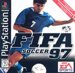 FIFA Soccer 97 front cover