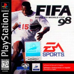 FIFA: Road to World Cup 98 front cover