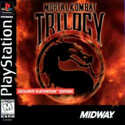 Mortal Kombat Trilogy front cover