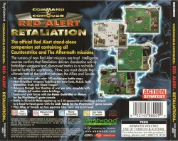 Command & Conquer: Red Alert Retaliation back cover
