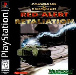 Command & Conquer: Red Alert Retaliation front cover