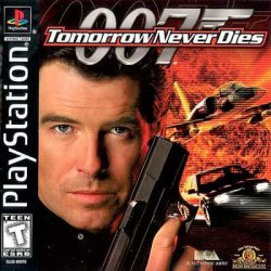 007: Tomorrow Never Dies front cover