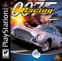 007: Racing front cover