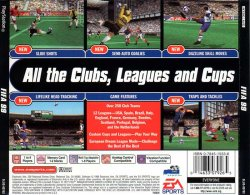 FIFA 99 back cover