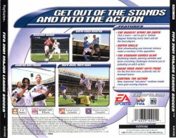 FIFA 2001 back cover