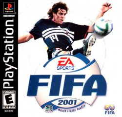 FIFA 2001 front cover