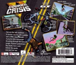 Courier Crisis back cover