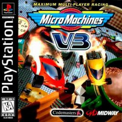 Micro Machines V3 front cover