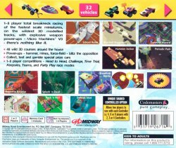 Micro Machines V3 back cover