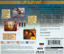 Galerians back cover