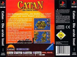 Catan back cover